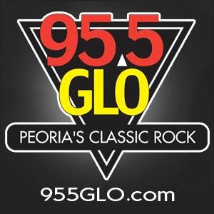 Radio WGLO - 95.5 FM Peoria's Classic Rock